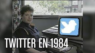 Conectándose a twitter en 1984 (DOBLAJE)