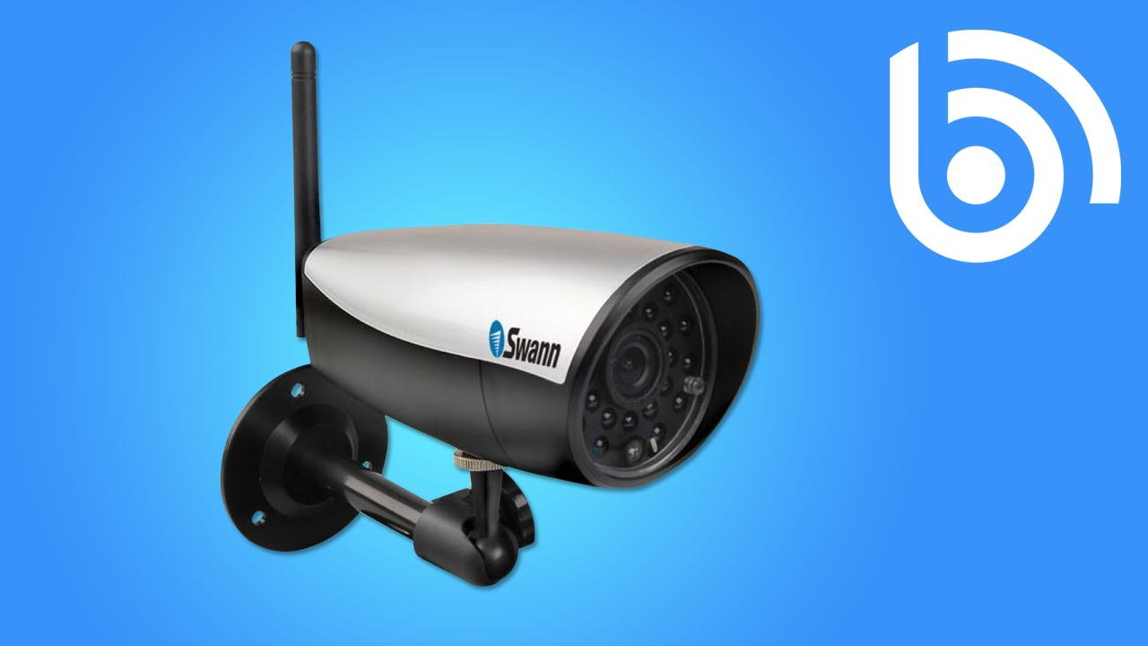 Swann DVR CCTV - Camera Set-up For Smartphone Viewing - YouTube