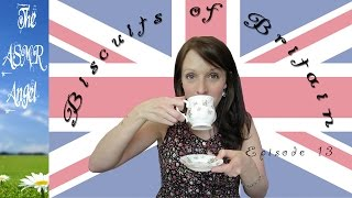 ASMR Biscuits of Britain & Beyond - Tea Drinking & Biscuit Tasting EP13
