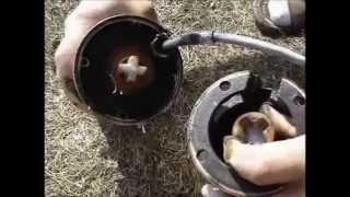 Розбирання, ревізія, ремонт та чищення глибинного насоса ''Водолій''