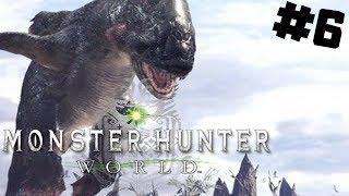 Monster Hunter World PL #6 - Jyuratodus - Wielki Błotnisty Potwór | PC 1440P gameplay po polsku