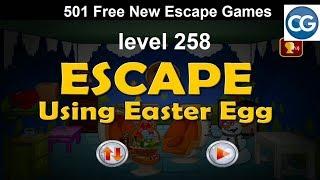 [Walkthrough] 501 Free New Escape Games level 258 - Escape using easter egg - Complete Game
