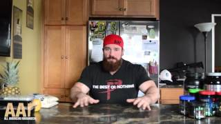 Seth Feroce: My Nutrition, Chicken and Rice MFers!
