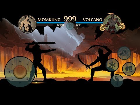Shadow Fight 2 SUPER SHADOW VS VOLCANO