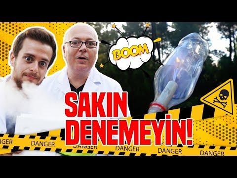 AŞIRI TEHLİKELİ DENEYLER! ft Serdar Başkan -SAKIN DENEMEYİN