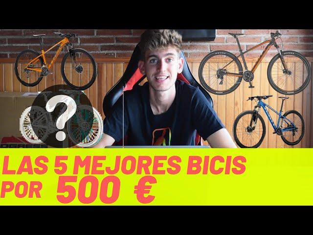 TOP 5 MEJORES BICIS por MENOS de 500€!! MEJORES BICIS BARATAS 2020 EN ESPAÑOL!🤑