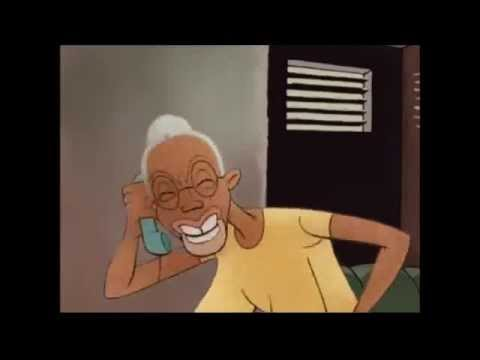 jamaica cartoon old woman speak jamica 1
