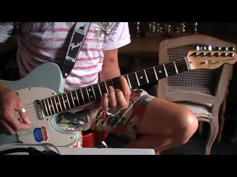 "Rolling Stones Don""t stop cover G tuning"