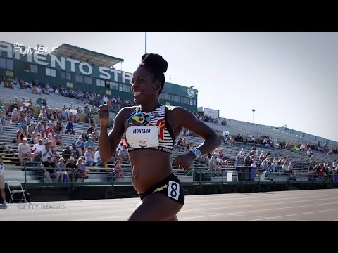 Olympian Competes In Track And Field Championship 5 Months PREGNANT!