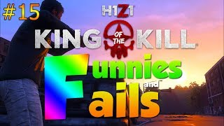 THE WORST TEAMMATE EVER... | H1Z1 KOTK - Funnies and Fails Ep. 15