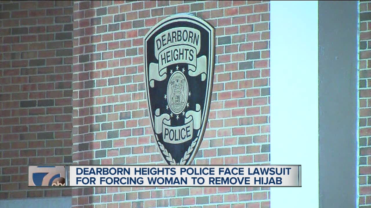 dearborn heights women A muslim woman who was forced to remove her hijab after being arrested filed a lawsuit against the dearborn heights police department has settled her lawsuit.