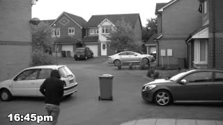 Bradley Stoke Riot caught on CCTV
