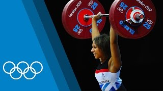 The Ideal Weightlifter with Team GB