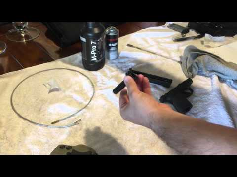 Smith and Wesson M&P Shield Cleaning video