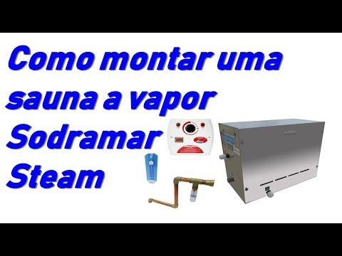 COMO MONTAR UMA SAUNA A VAPOR COMPACTA STEAM SODRAMAR