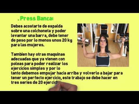 El aumento del ejercicio para el aumento del pecho