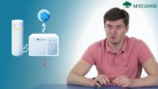 видео Нагрев воды в бассейне тепловым насосом