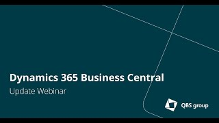 Update Dynamics 365 Business Central