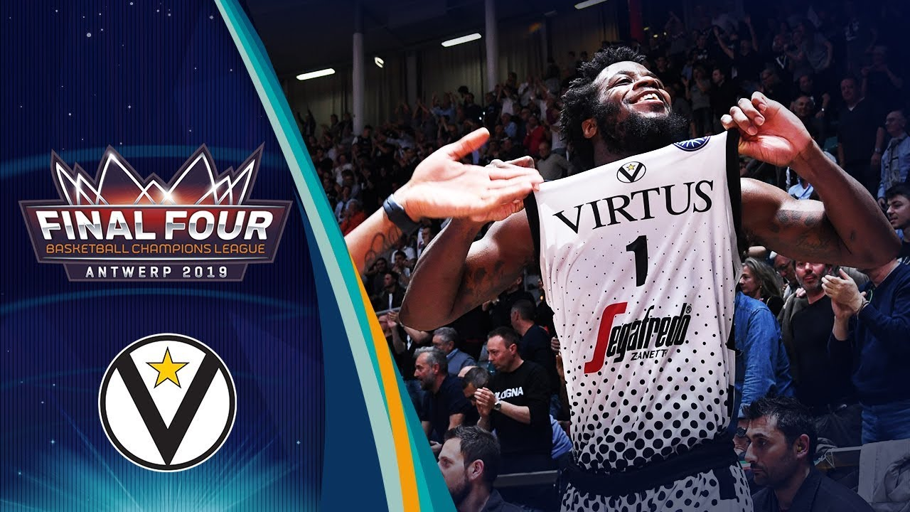 Top 10 Plays by Segafredo Virtus Bologna - Basketball Champions League 2018