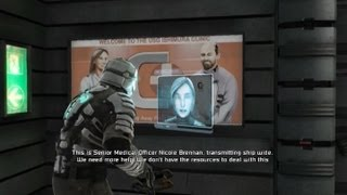 Dead Space 1 walkthrough part 4 - Chapter 2 Intensive Care 2/2
