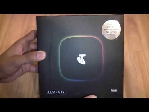 Telstra TV Unboxing