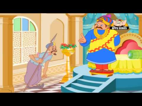 Akbar and Birbal Tales in Hindi - The Persian Minister's Test
