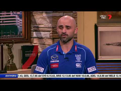 Rhyce Shaw On AFL Game Day - Channel 7 (June 2, 2019)