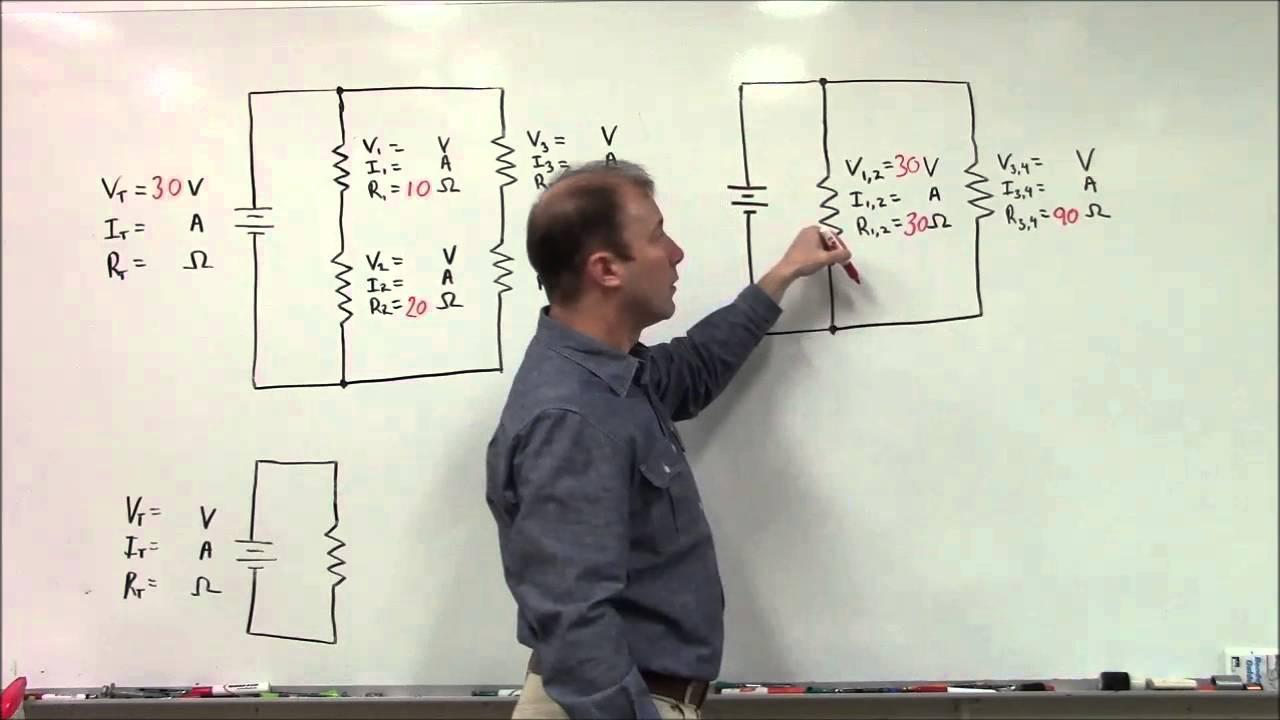 combination circuit video two series branches that are parallel with rh youtube com