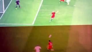 GOAL LEWANDOWSKY POLONIA VS PORTUGAL 1-0 EURO2016