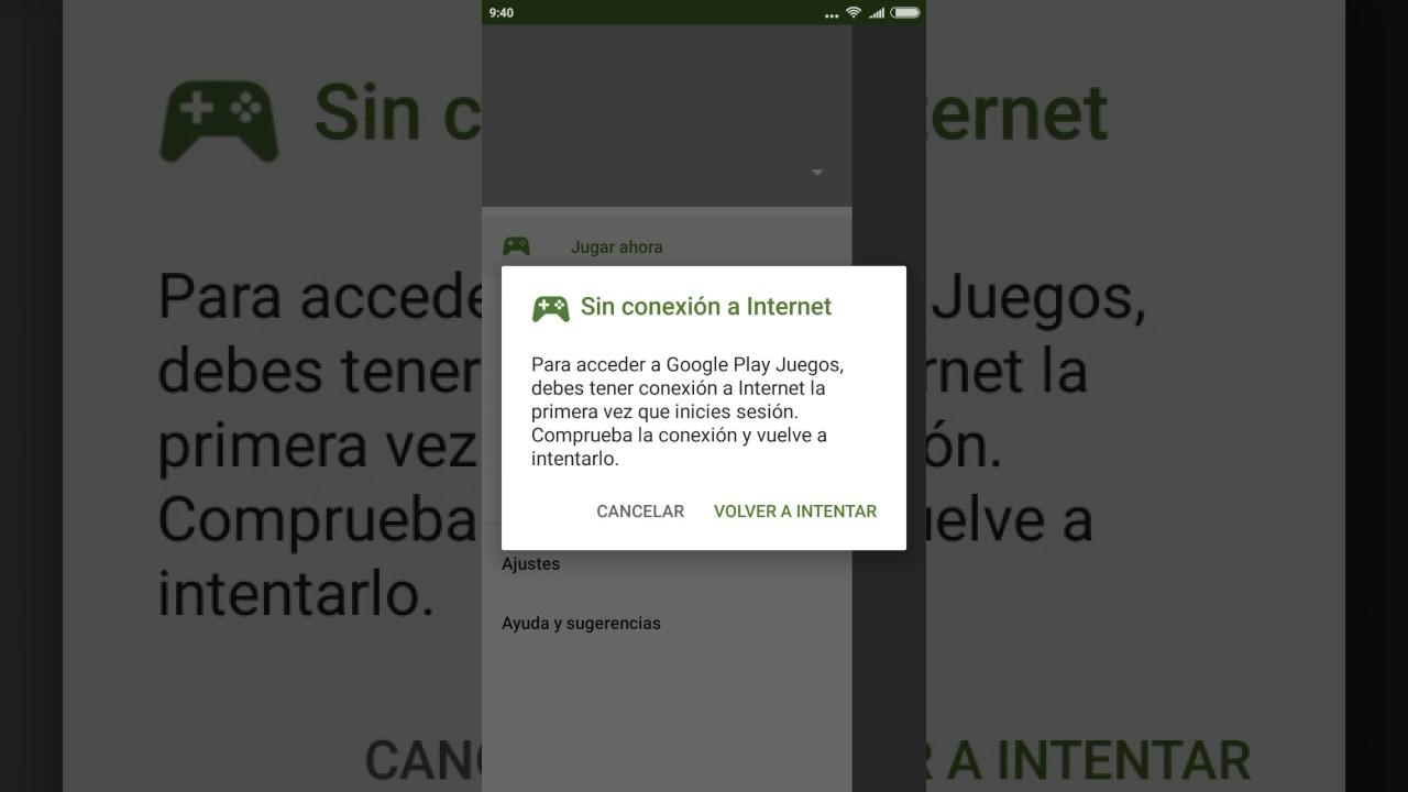 Ayuda Mi Google Play Juegos No Se Conecta Con Internet Youtube