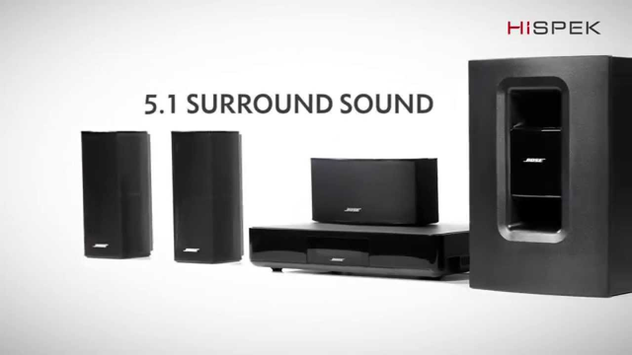 Bose Home Cinema Bose Cinemate 520 5.1 Home Cinema System With 4k Passthrough And Wreless Acoustimass Module - Youtube