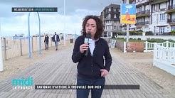 Savignac s'affiche à Trouville-Sur-Mer