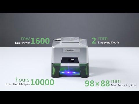 Alfawise C50 Mini Wireless Smart Laser Engraver Cutter