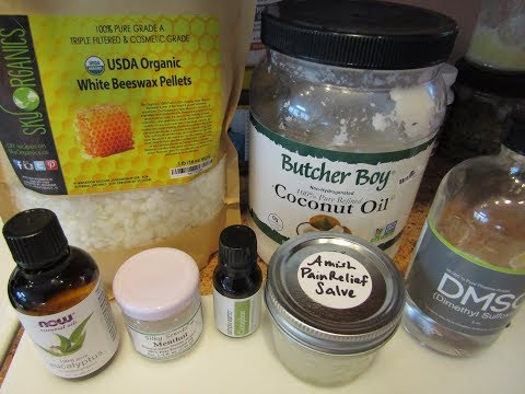 Making Amish Pain Relief Salve