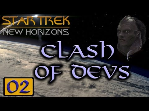 Star Trek: New Horizons: Clash of the Devs - Stellaris MP Game #02 - Vaadwaur (My Point of View)