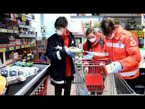 euronews (em português): Voluntários entregam mantimentos a quem não pode sair