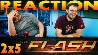 "The Flash 2x5 REACTION!! ""The Darkness and the Light"""