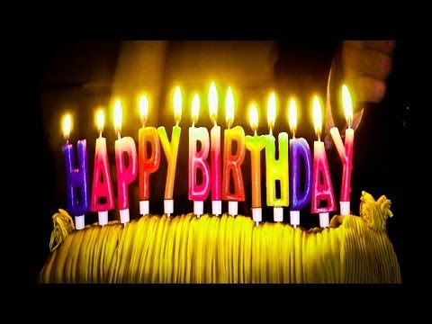 Happy Birthday - Zum Geburtstag viel Glück