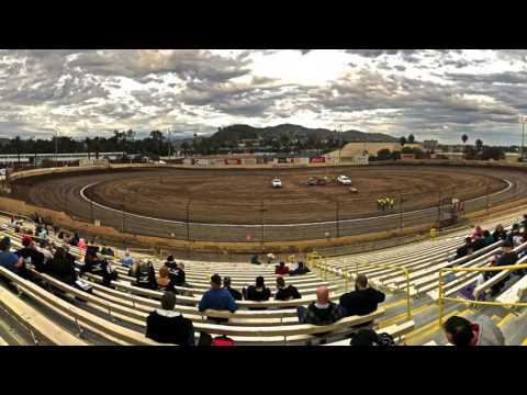 Ventura Raceway - USAC midget racing action!