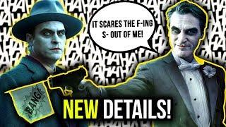 Joaquin Phoenix BREAKS HIS SILENCE on The Joker Origin Movie!