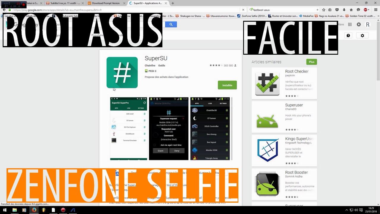 Root Asus Zenfone Selfie #XDA DEVELOPERS (Ne fonctionne plus)