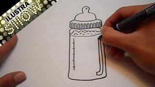 Dibujar Un Biberón Tutorial / ILUSTRA SHOW