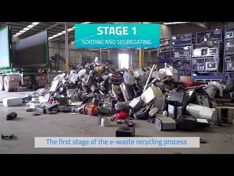 What Does The Process Of Recycling E-waste Look Like