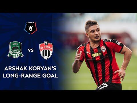 Arshak Koryan's Long-Range Goal Against FC Krasnodar   RPL 2020/21
