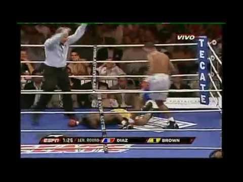 Félix Díaz propina Knock Out en su primera pelea en Estados Unidos