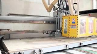 видео Итальянская мебельная фабрика