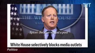 Trump vs. The Media: CNN, NY Times Shut Out Of White House Briefing
