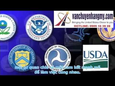 gửi hàng đi mỹ - vận chuyển (gửi) hàng đi mỹ và những quy định của Hải quan Mỹ