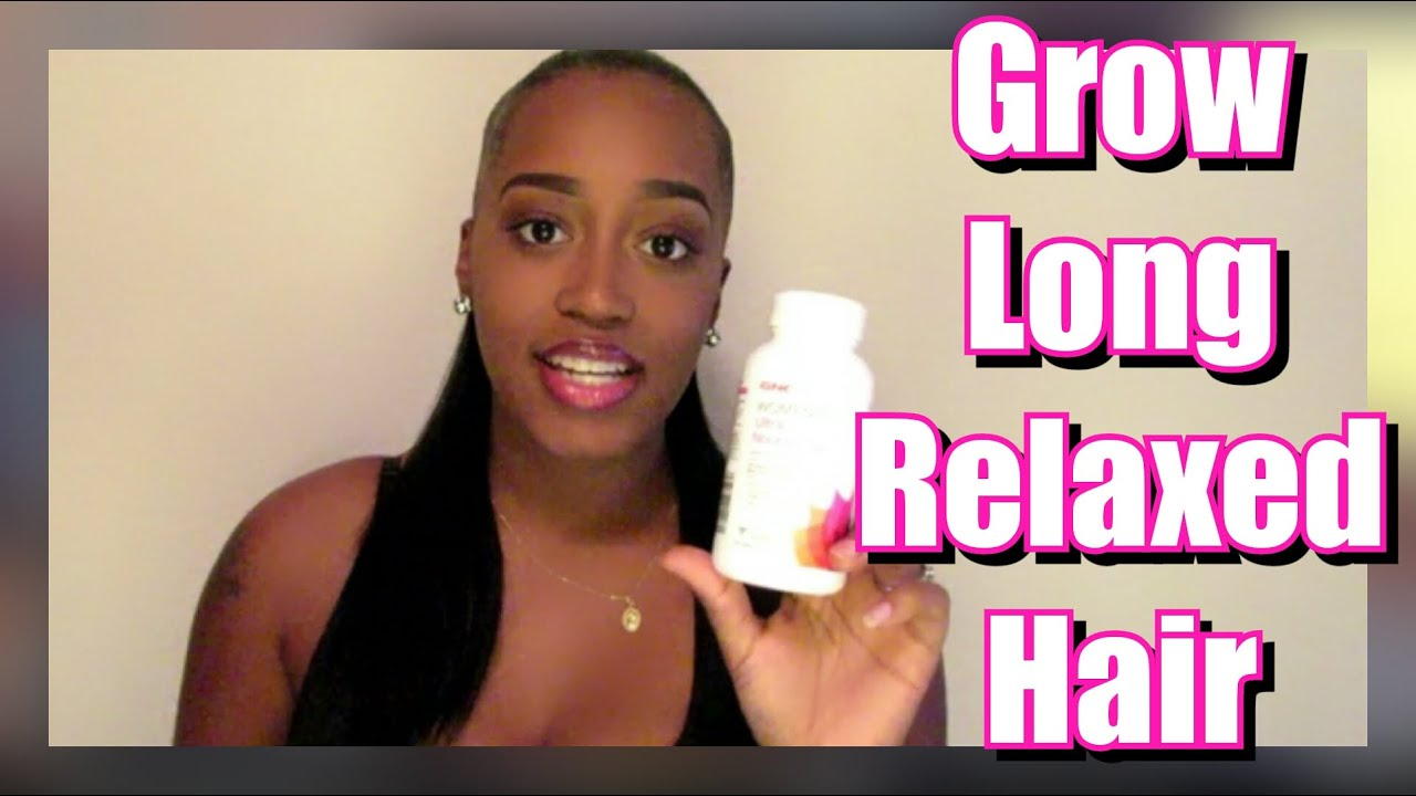 how to make relaxed hair grow