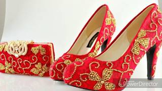 Stylish Bridal shoes sandals design weeding collection